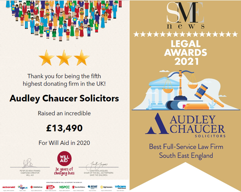 Audley Chaucer Celebrate 'Triple Boost'