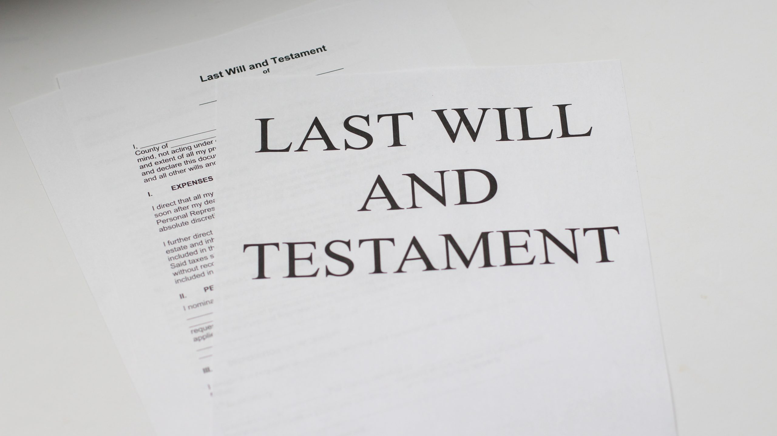 John Szepietowski Considers the Decision to Remove a Child from a Will